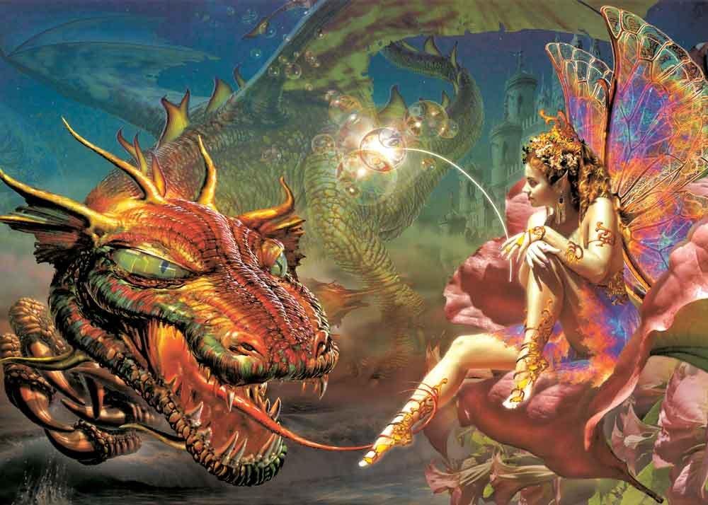 Фото с эльфами и драконами 3 фотография