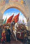 Entering to Constantinople