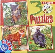 Jungle Animals (6, 9, 13 Pieces)