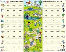 Learning English Puzzle - Irregular Verbs