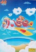 Teddies in the Plane