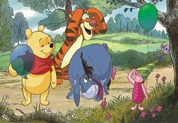 Winnie the Pooh and Balloons
