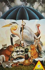 Animals in storm - 1