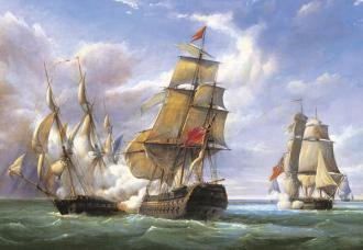 Battle of French Frigates - 1
