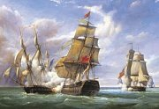 Battle of French Frigates