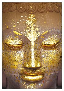 Buddha Golden Face - 1