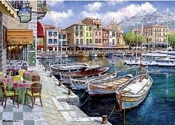 Coffee in Cassis