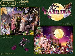 Fairy Wedding and Fairy Dreams (2x500pcs)