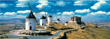 La Mancha Windmills - 1