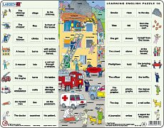 Learning English Puzzle - Professions