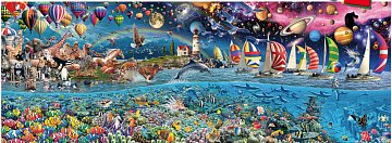 Life - The Largest Puzzle in the World - 2400 pieces  - 1