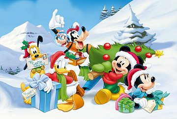 Mickey Mouse - Christmass - 1