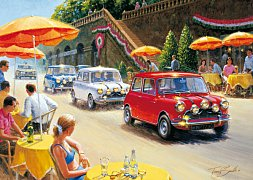 Minis, Italian Job, A Big Race For Small Cars