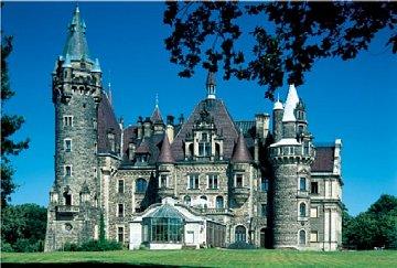 Moszna Castle - 1