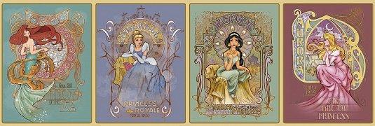 Princess, Art Nouveau