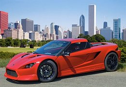 Red Sports Car K-1 Attack