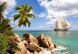 Sailing in Paradise