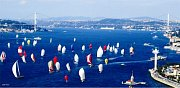 Sailing Race At Bosphorus