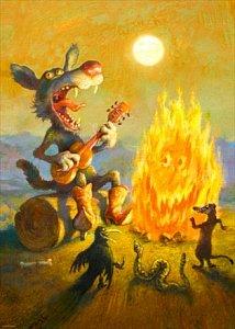Singing Coyote - 1
