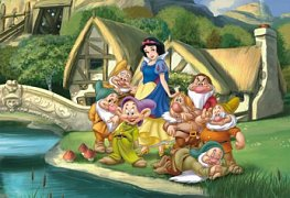 Snow White with Dwarves