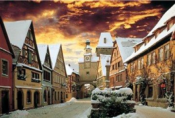 Snowy Street - 1