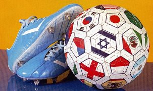 Soccer Ball - Flags