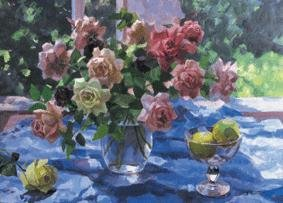Still life - with roses - 1