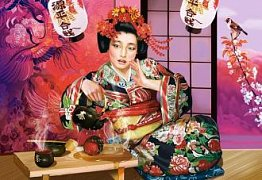 Tea with Geisha