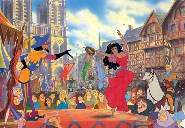 The Hunchback of Notre-Dame - Esmeralda's Dance - 1