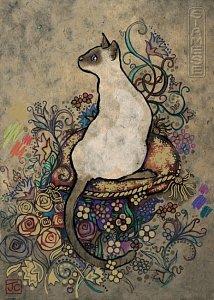 The Siamese cat - 1