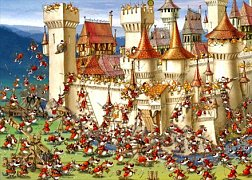 The siege of the Castle