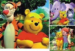Tiger and Winnie the Pooh