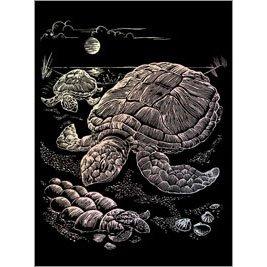 Turtle Under Sea - 1