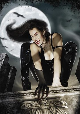 Vampires: On the Roof