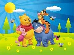 Winnie the Pooh in Spring