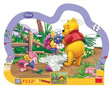 Winnie the Pooh (Puzzle with Pencils)
