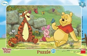 Winnie the Pooh with Butterflies