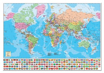 World map flags of 194 states puzzle trade world map flags of 194 states 1 gumiabroncs Image collections