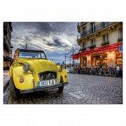 Yellow Car in Paris